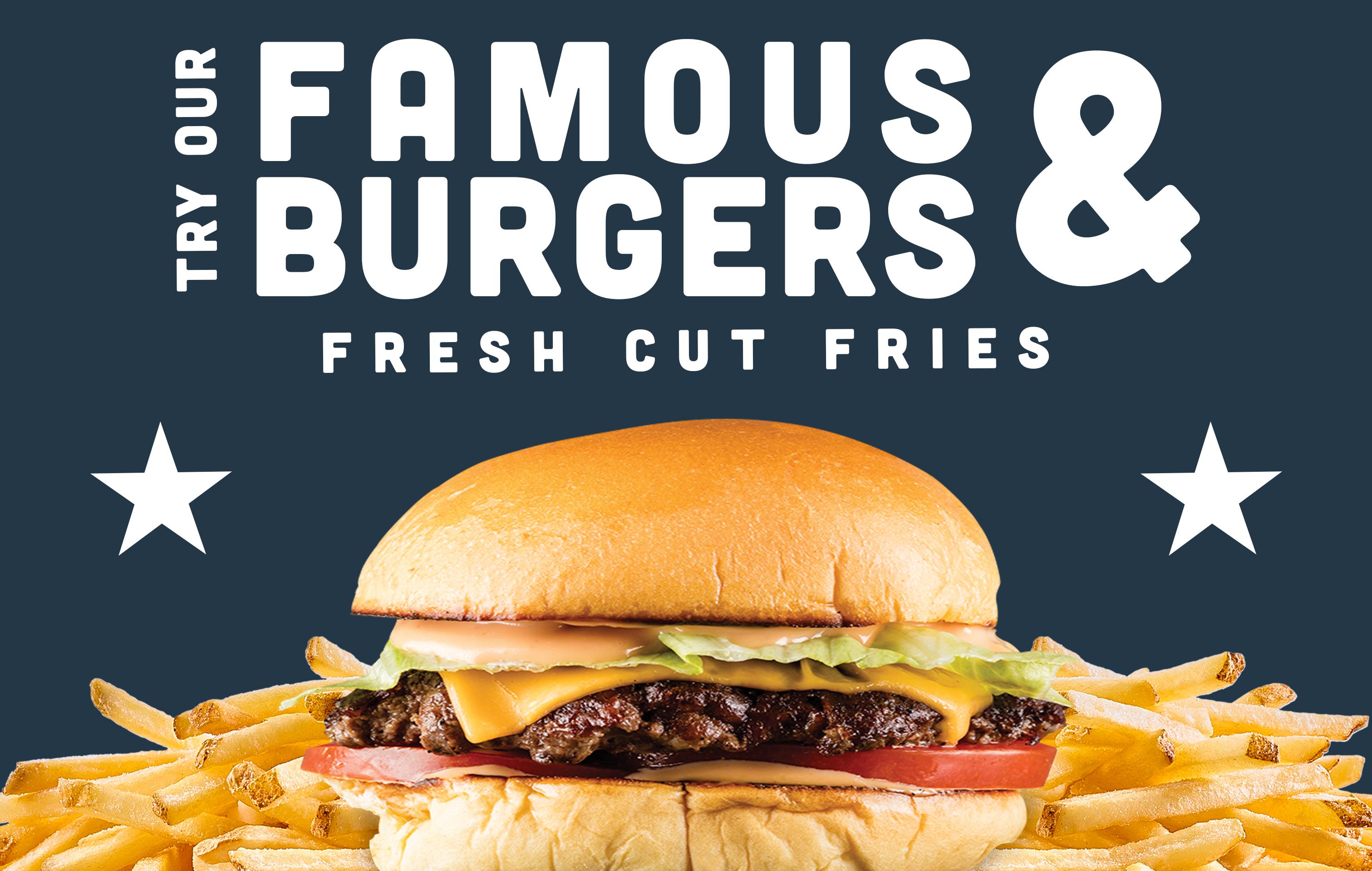 Como Tap Famous Burgers Blue